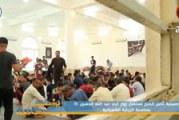 حسينية ثامن الحجج تستقبل زوار أبي عبد الله الحسين (ع) بمناسبة الزيارة الشعبانية